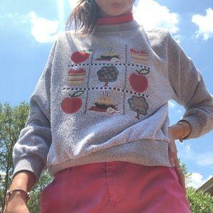 Vintage Apple Sweater